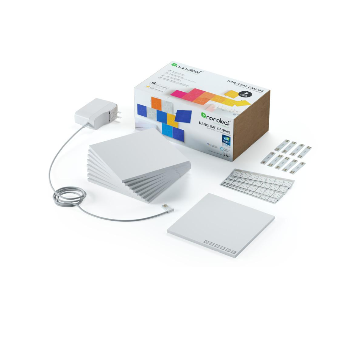 Nanoleaf Canvas Smarter Kit - 9 Light Panels - AVStore