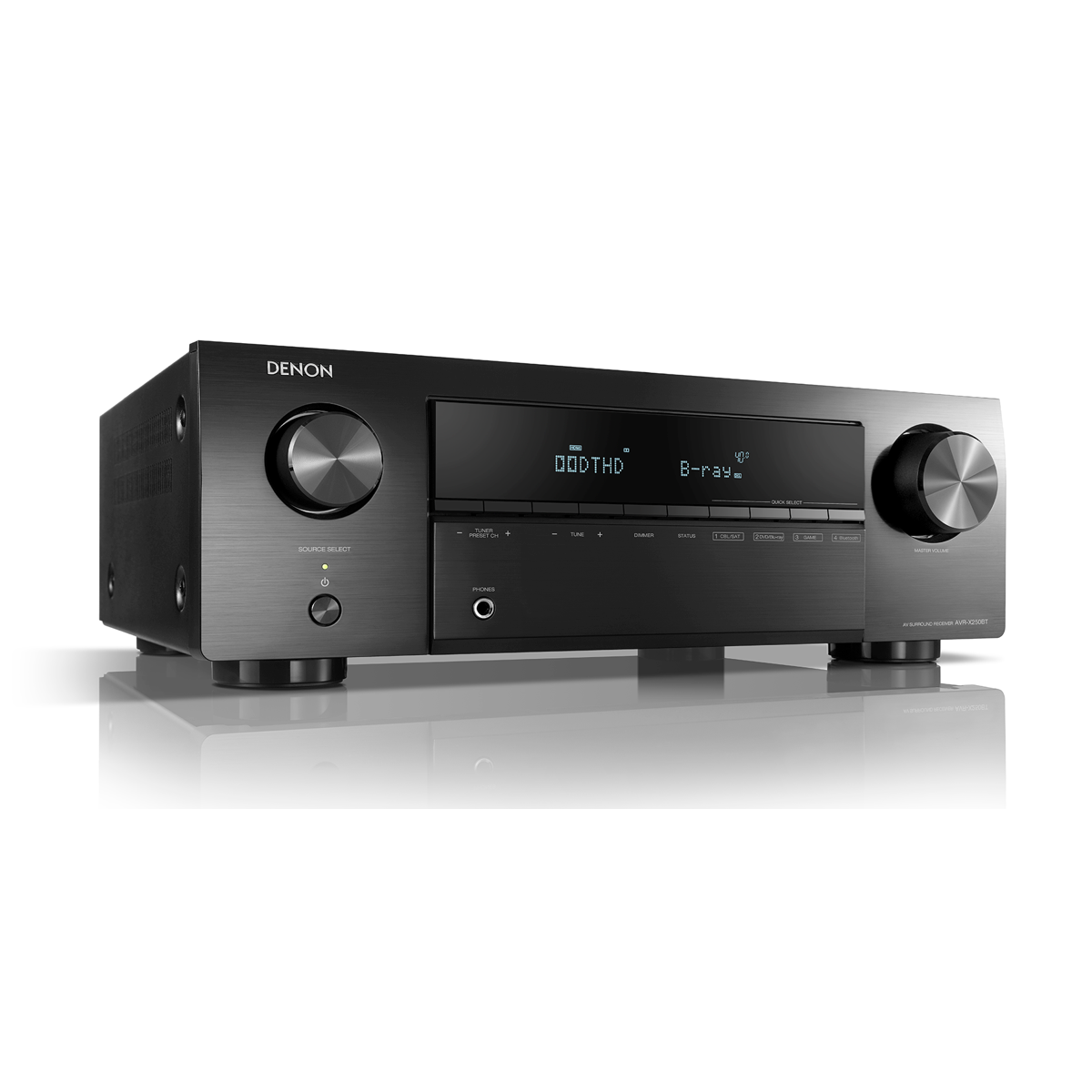 Denon AVR-X250BT - 5.1 Channel AV Receiver - AVStore.in