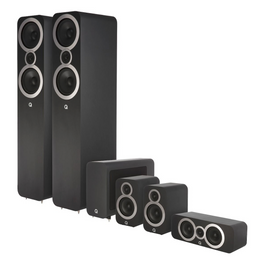 Q-Acoustics 3050i Home Theater Speaker Package, Q Acoustics, 5.1 Speaker Package - AVStore.in