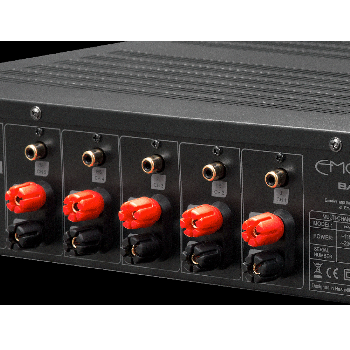 Emotiva A-500 - Five Chanel Power Amplifier - AVStore.in