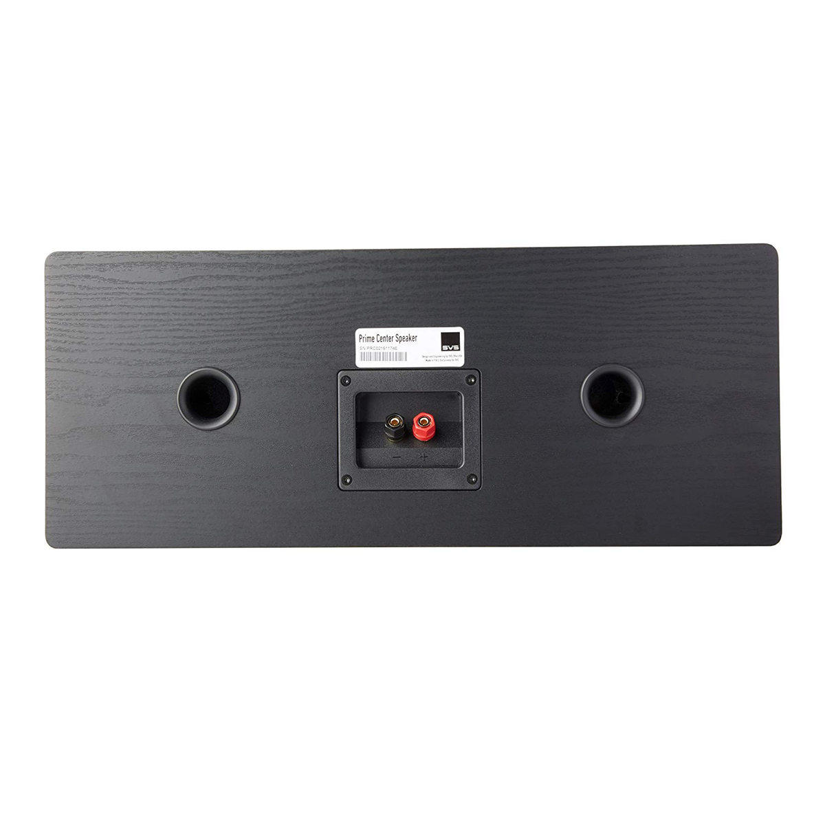 SVS Sound Prime Centre Speaker - Black Ash, SVS Sound, Centre Speaker - AVStore.in