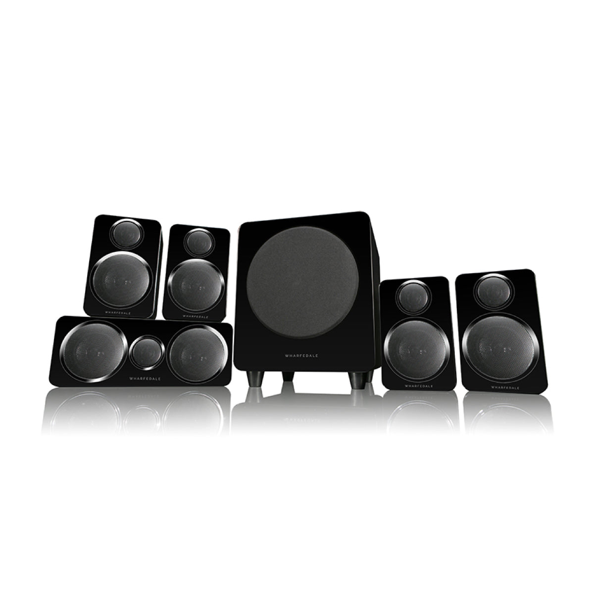 Wharfedale DX2 (Home Cinema Speaker Package), Wharfedale, 5.1 Speaker Package - AVStore.in