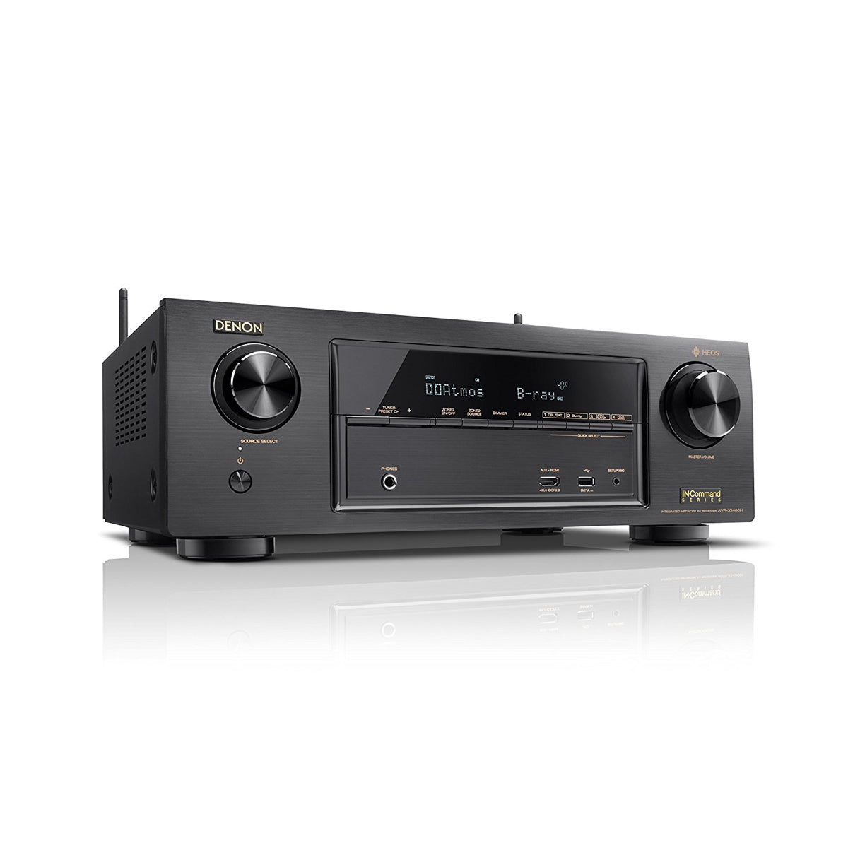 Denon AVR-X1400H - 7.2 Channel AV Receiver - AVStore.in