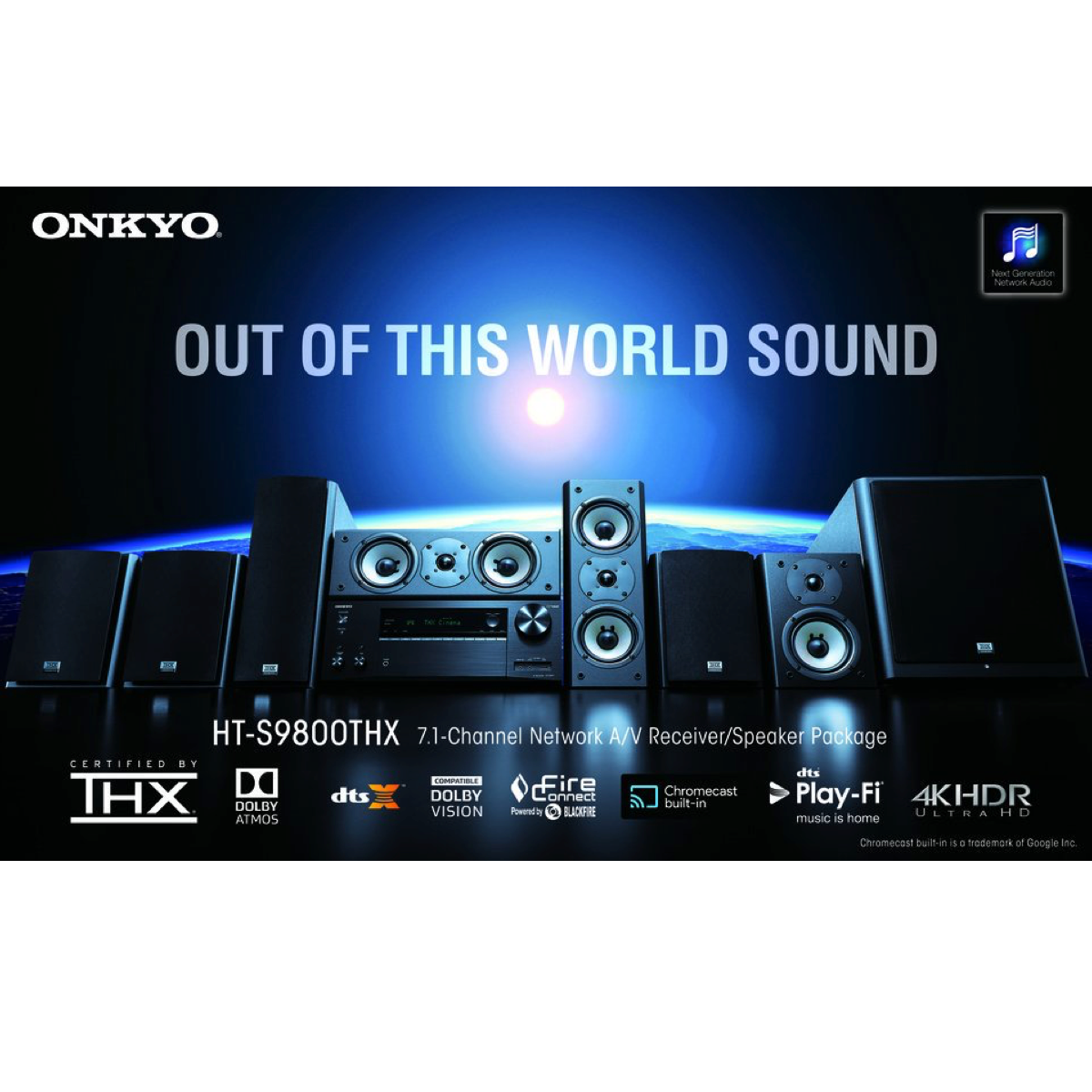 Onkyo HT-S9800THX - 7.1 Channel Home Theatre System - AVStore.in