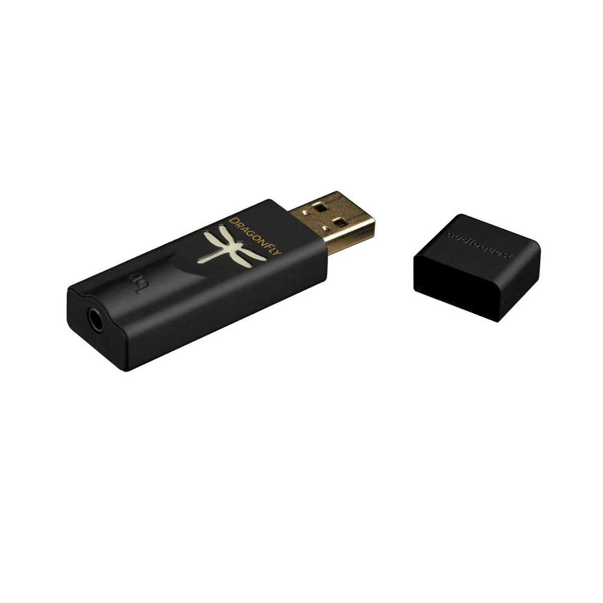 AudioQuest DragonFly Black - USB DAC + Preamp + Headphone Amplifier - AVStore.in