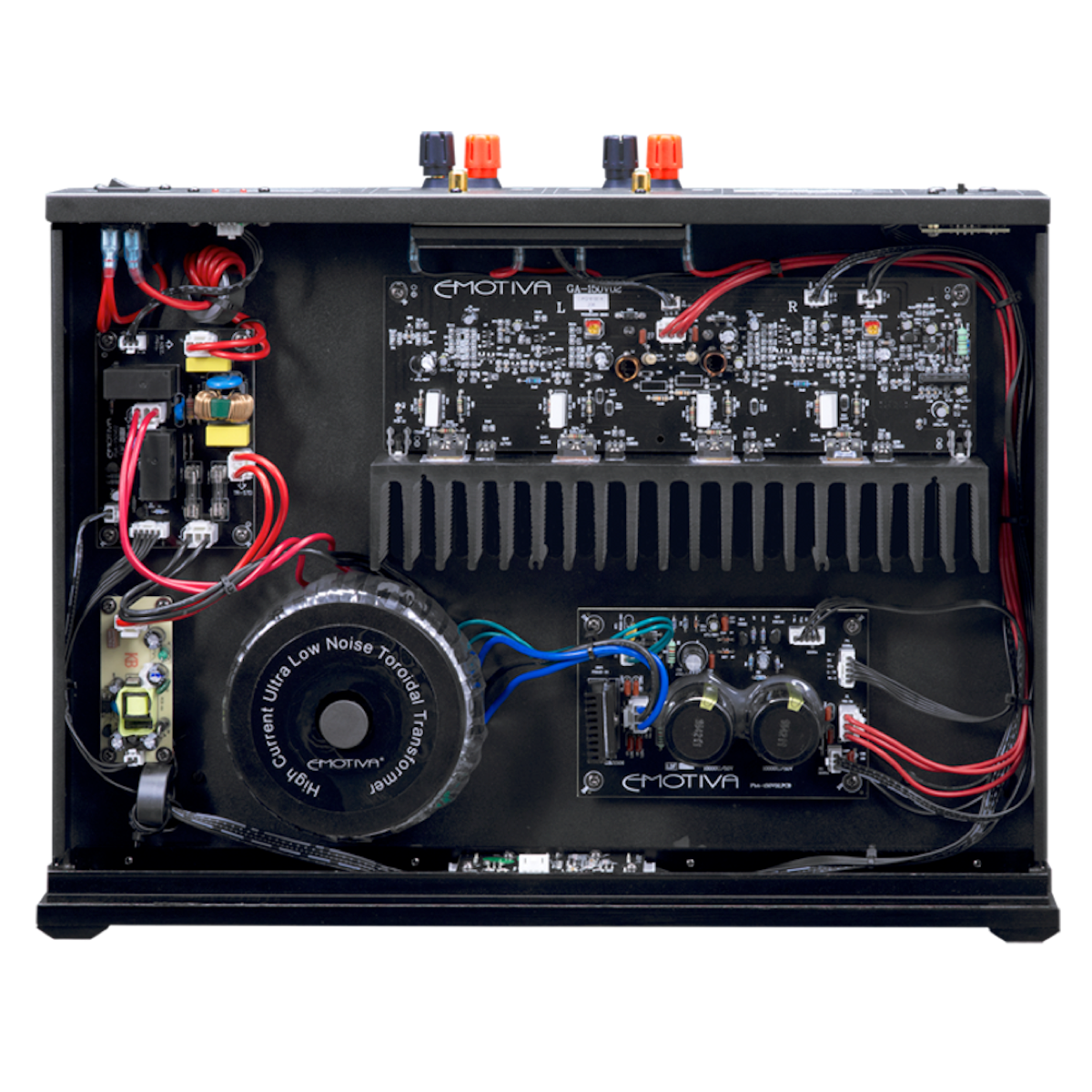 Emotiva A-150 - Stereo Power Amplifier - AVStore