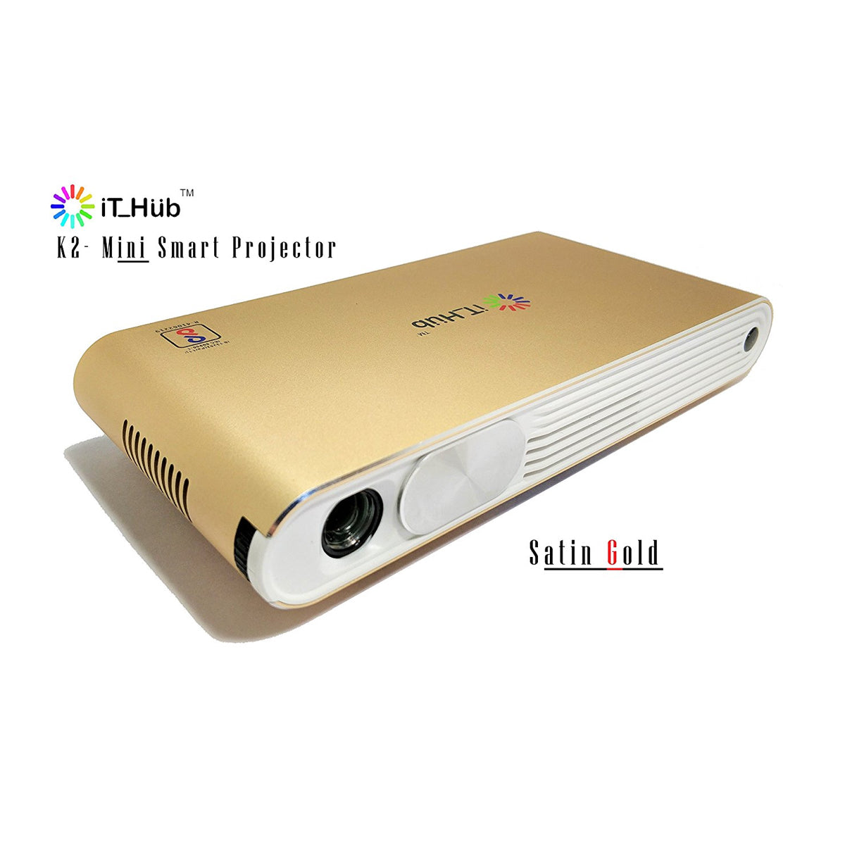 iT Hub K2 Smart Edge Mini Projector, IT Hub, Projector - AVStore.in