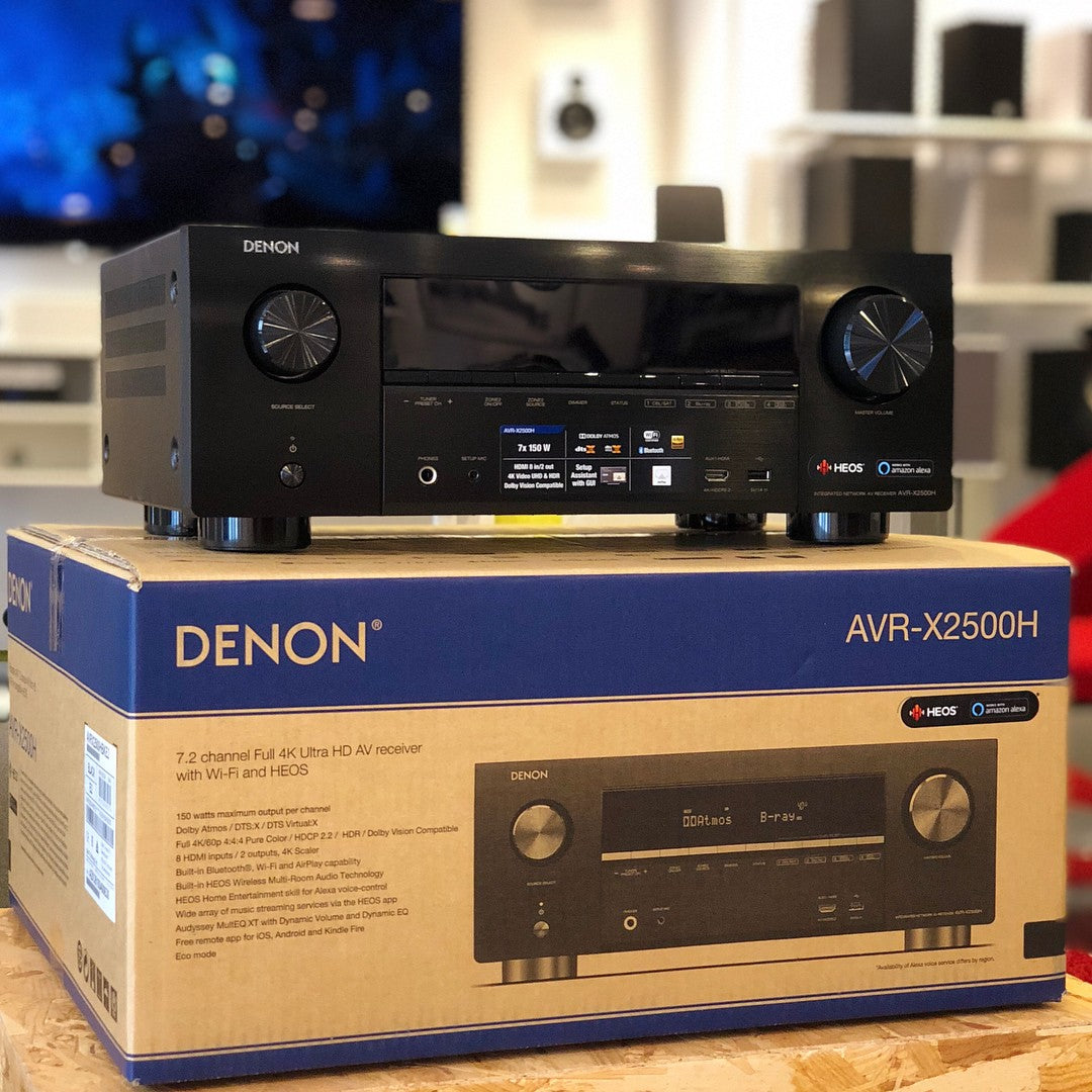 Denon AVR-X2500H - 7.2 Channel AV Receiver - AVStore.in