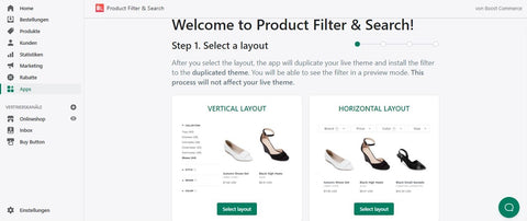 Product Filter & Search App Shopify Setup
