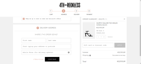 Shopify Plus 4th reckless