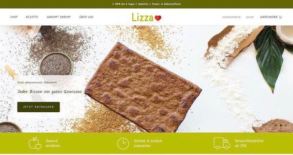 Lizza Shopify Shop
