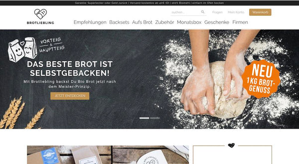 Brotliebling Shopify Shop