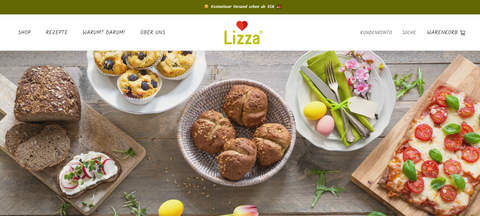 Lizza Onlineshop