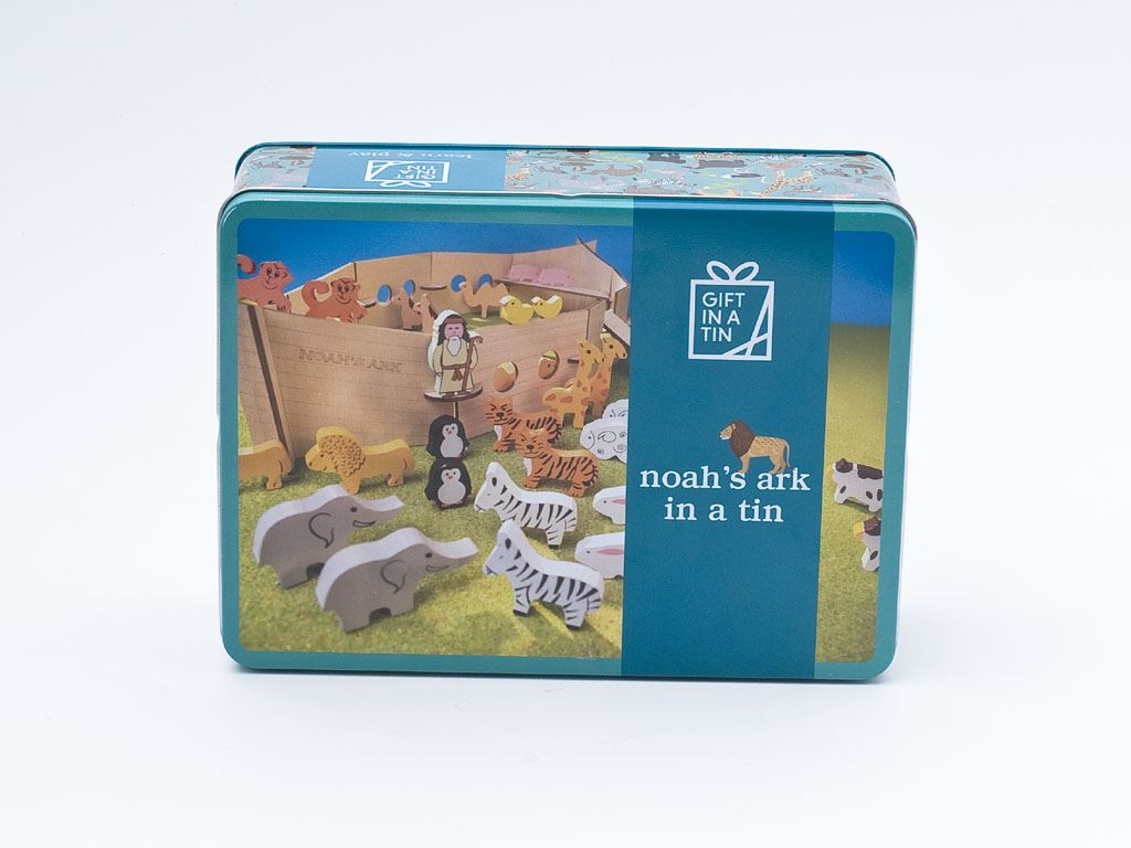 Apples To Pears - Learn & Play - Gift In A Tin - Noah's Ark In A Tin