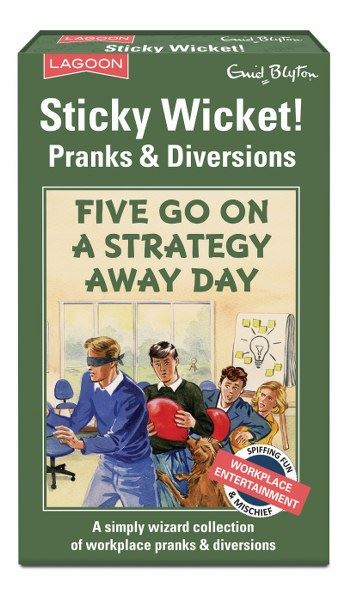 Enid Blyton - Sticky Wicket! - Pranks & Diversions - Five Go On Strategy Away Day
