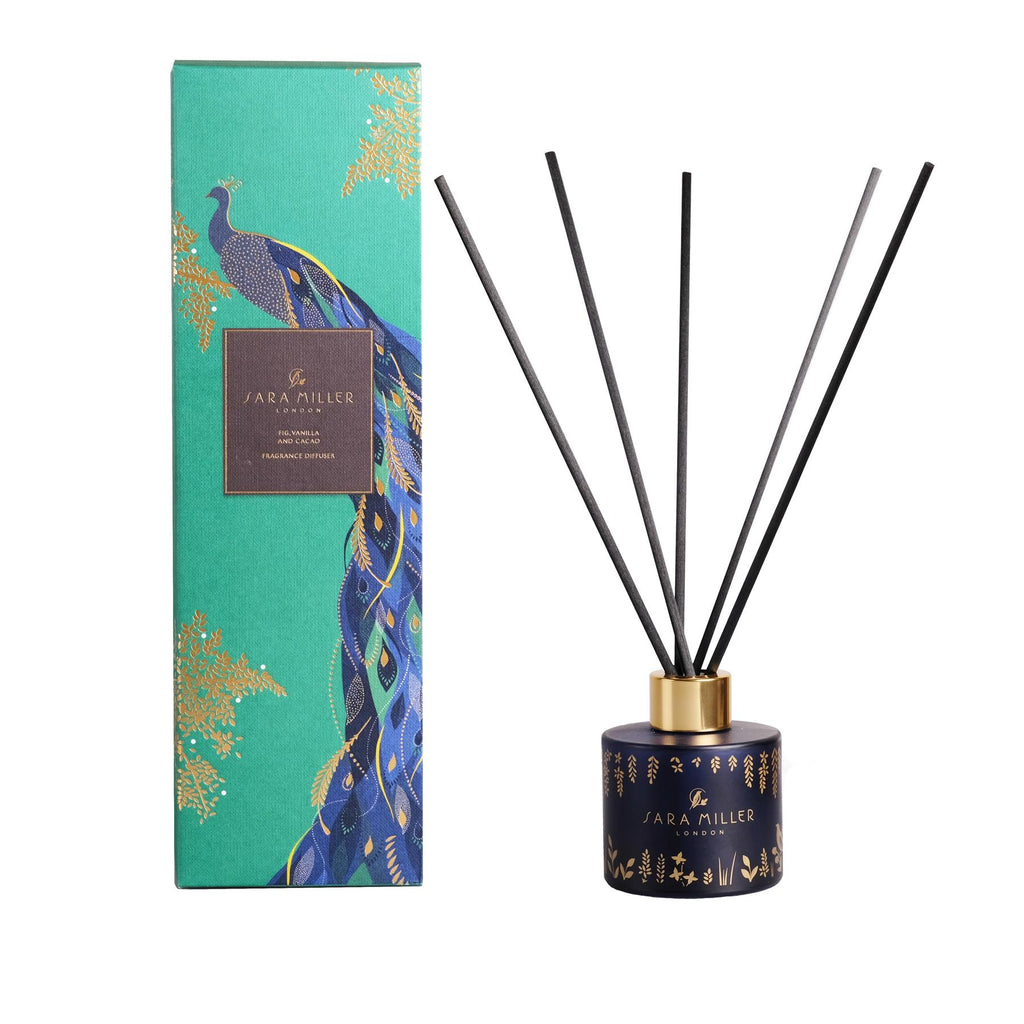 Sara Miller - Alcohol Free Room Diffuser - Fig, Vanilla & Cacao 100ml
