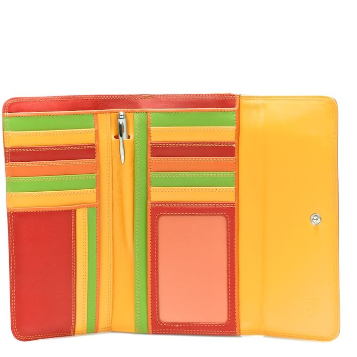 Leather Tri-Fold Wallet With Outer Zip Purse 269 - MyWalit - Jamaica