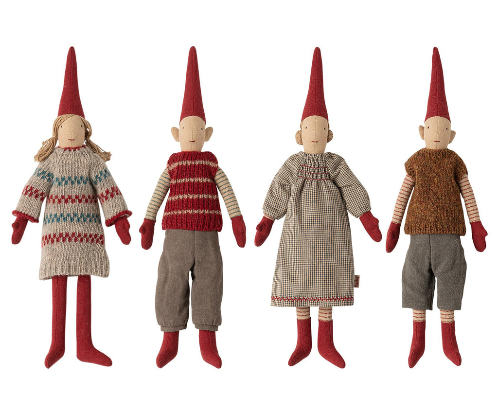 Maileg - Danish Nisse Pixy Elf 2020 - Mini - Available in 4 Designs - 30cms