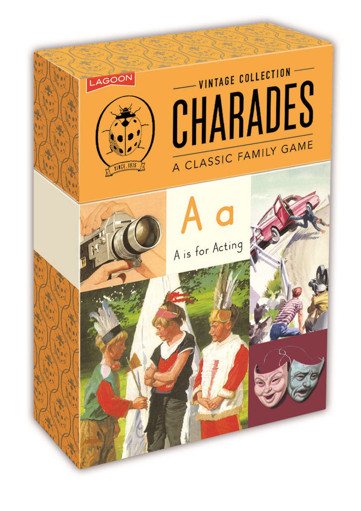 Ladybird Vintage Collection - Charades - Lagoon Group