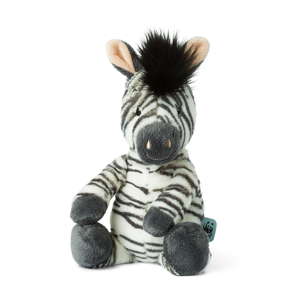 WWF Cub Club - Bon Ton Toys - Zigo The Zebra - 29cms - Suitable From Birth
