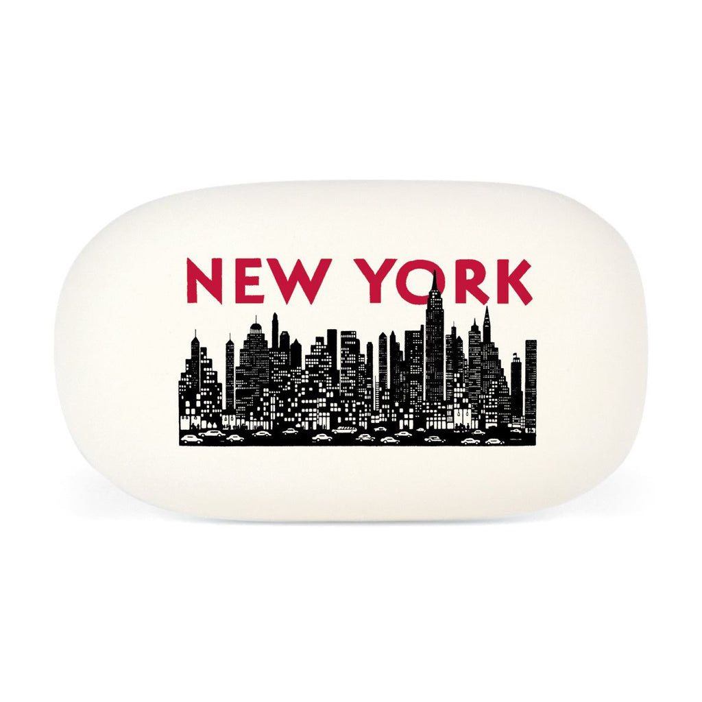 Cavallini - Eraser/Rubber Tablet - New York City Skyline - High Quality Rubber Eraser