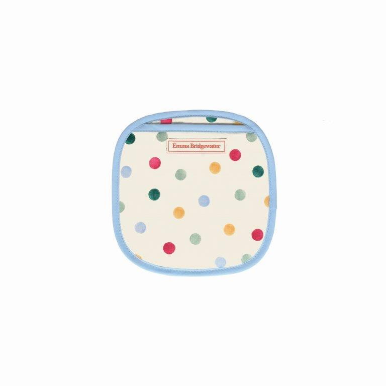 Emma Bridgewater - 100% Cotton - Pot Grab/Mitt - 22 x 22cms - Polka Dots