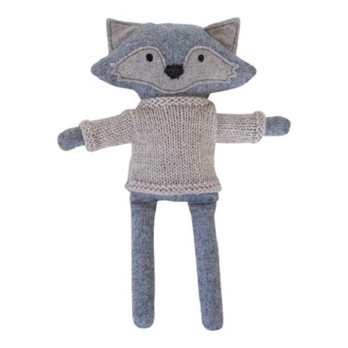 Heiko The Fox - 35 cm Softie - and the little dog laughed