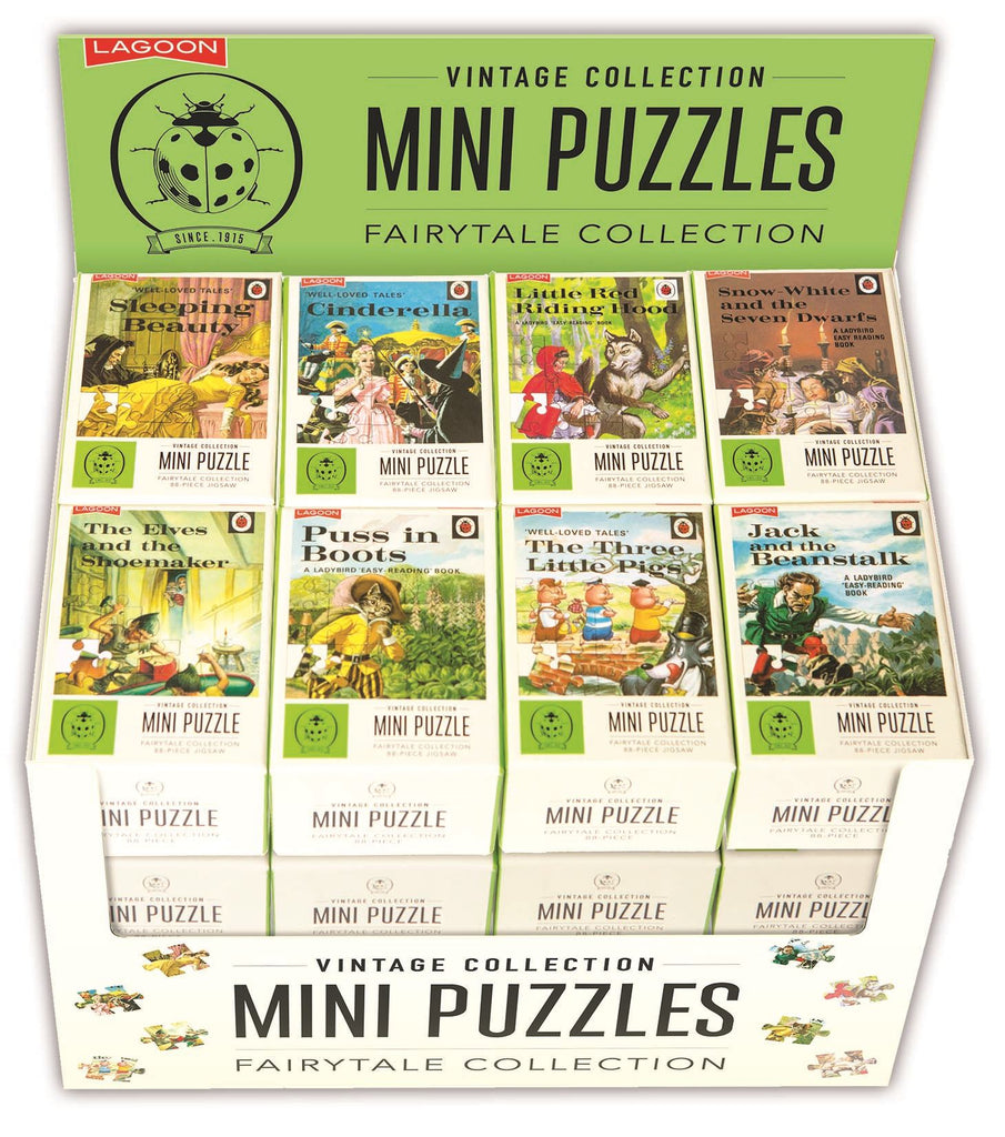 Ladybird Vintage Mini Jigsaw Puzzle - Fairytale Collection - 88 Piece - 8 Designs Available