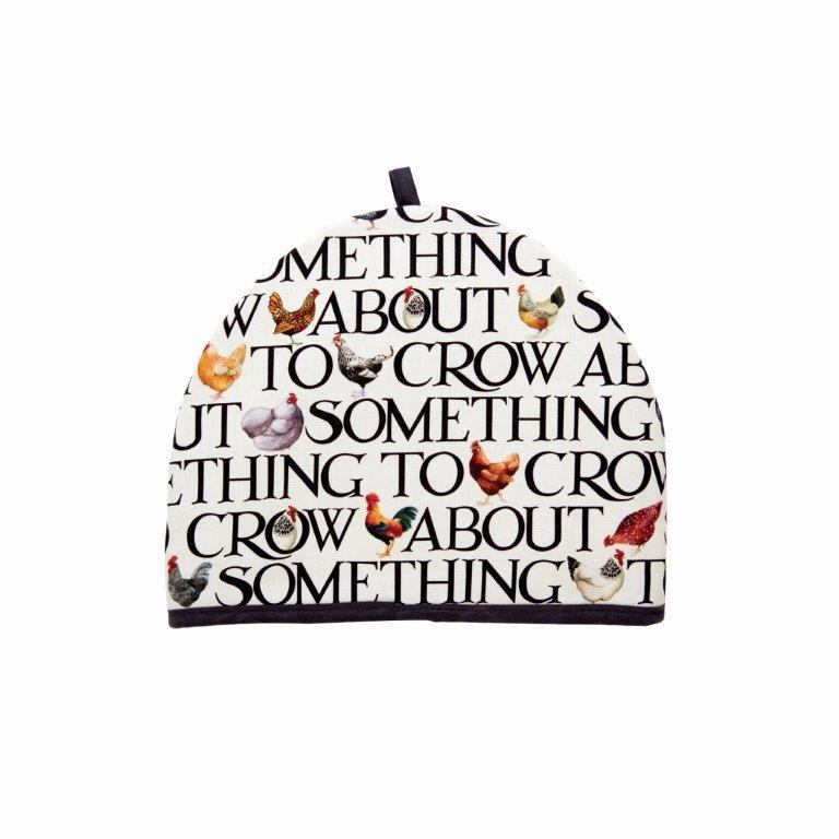 Emma Bridgewater - 100% Cotton - Tea Cosy - 33x27cms - Rise & Shine/Hen & Toast