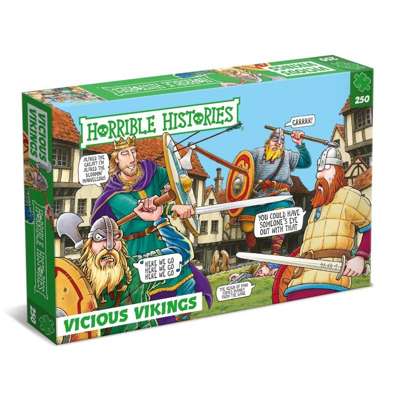 Horrible Histories - 250 Piece Jigsaw Puzzle - Vicious Vikings 787 -1066