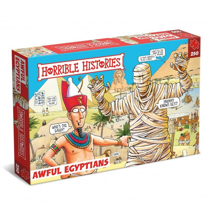 Horrible Histories - 250 Piece Jigsaw Puzzle - Awful Egyptians 5500 BC - 30 BC