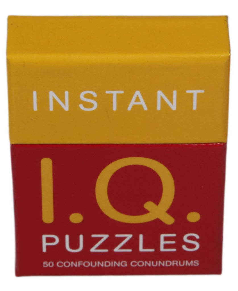 Instant Puzzles - 50 Confounding Conundrums - IQ Puzzles