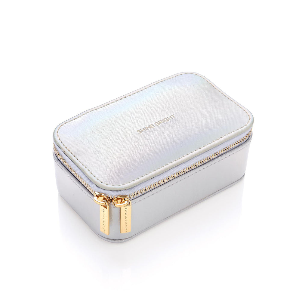 Mini Jewellery Box/Case - Iridescent/Shine Bright - 13x5x8.5cms - Estella Bartlett