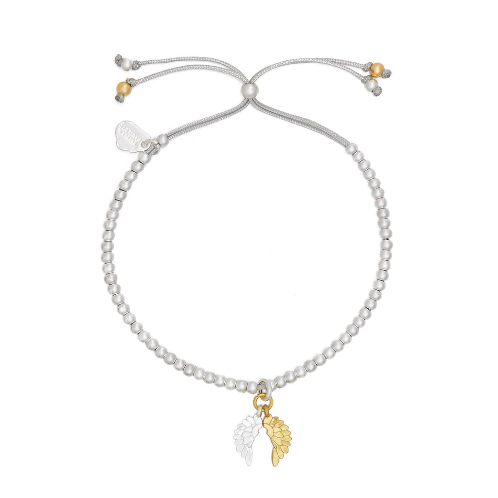 Wings Liberty Bracelet - Gold & Silver Plated - She Believed She Could So She Did - Estella Bartlett
