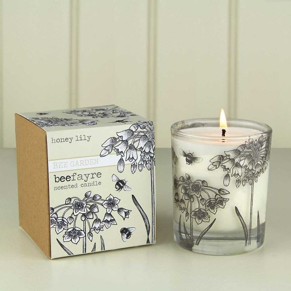 Beefayre Bee Garden - Honey Lily - Scented Candle - 200g/50hours