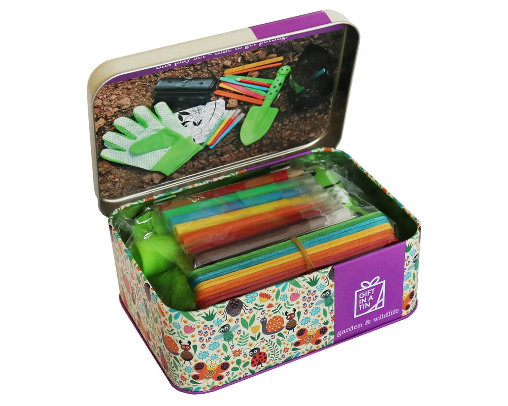 Apples To Pears - Garden & Wildlife - Gift In A Tin - My Garden Play Set