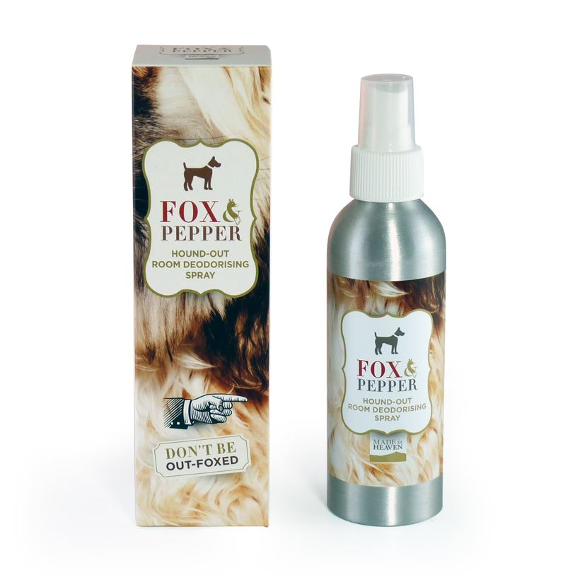 Made In Heaven - Fox & Pepper - Hound-Out Animal Deodorising Spray - 150ml