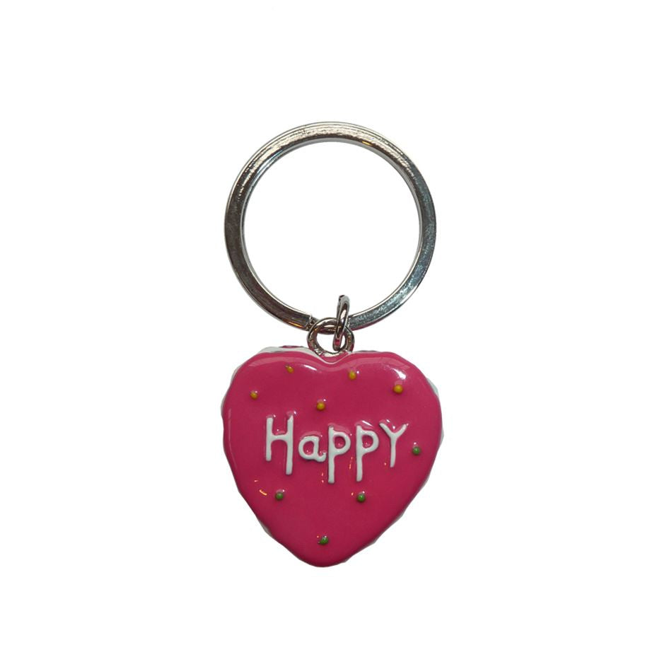 Bombay Duck - Happy Heart Keyring