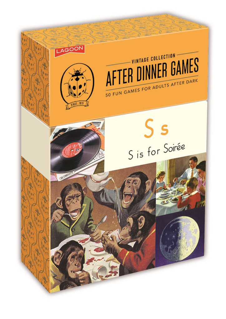 Ladybird Vintage Collection - After Dinner Games - Lagoon Group