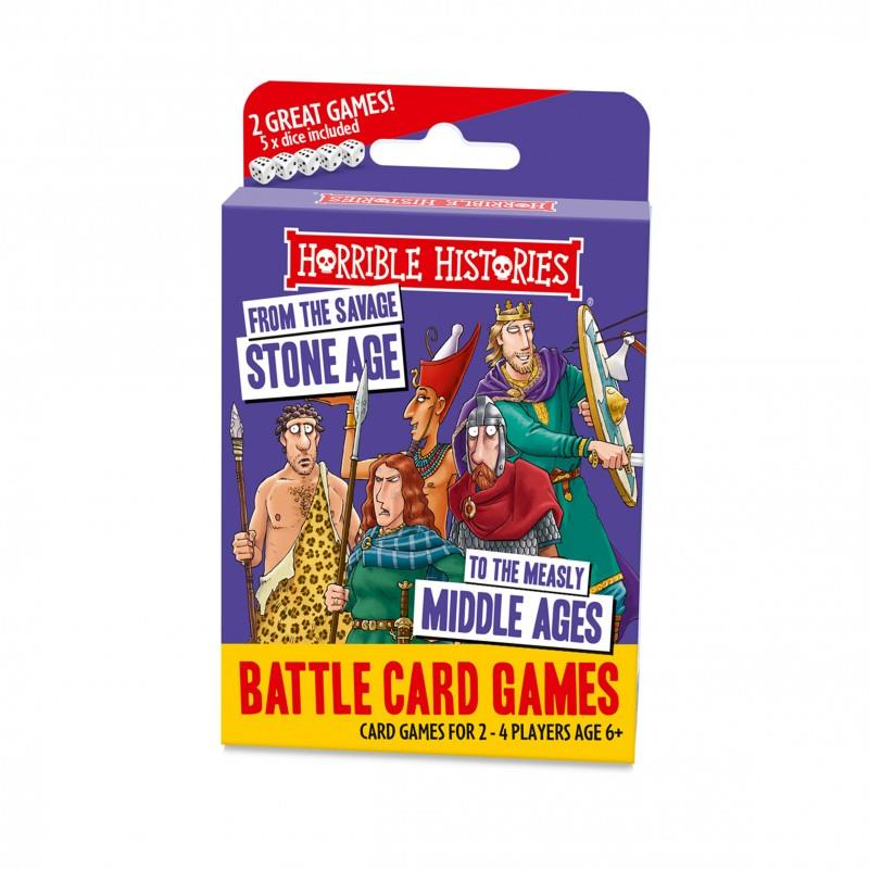 Horrible Histories - Battle Card Games - Savage Stone Age to Measly Middle Ages