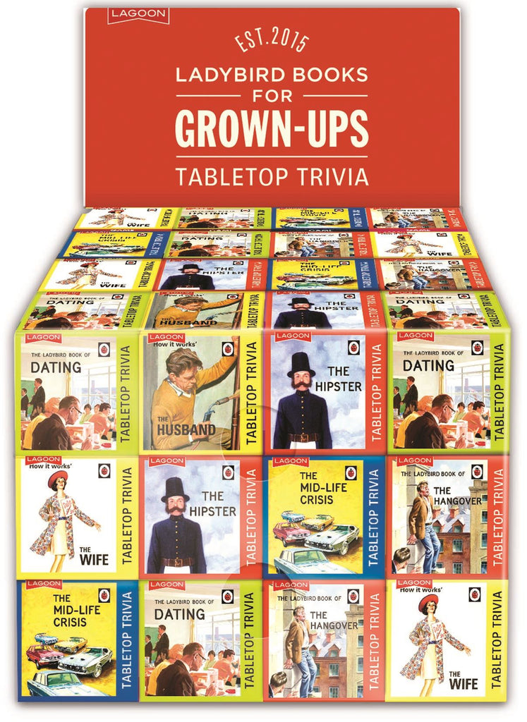 Ladybird Books for Grown Ups - Tabletop Trivia - Sold Individually/8 Designs Available