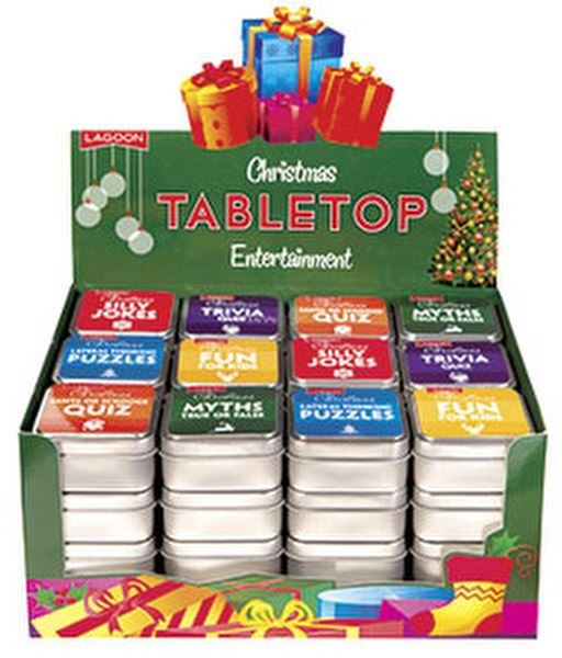 Lagoon - Christmas Themed Table Top Trivia & Quizzes - 6 Designs Available
