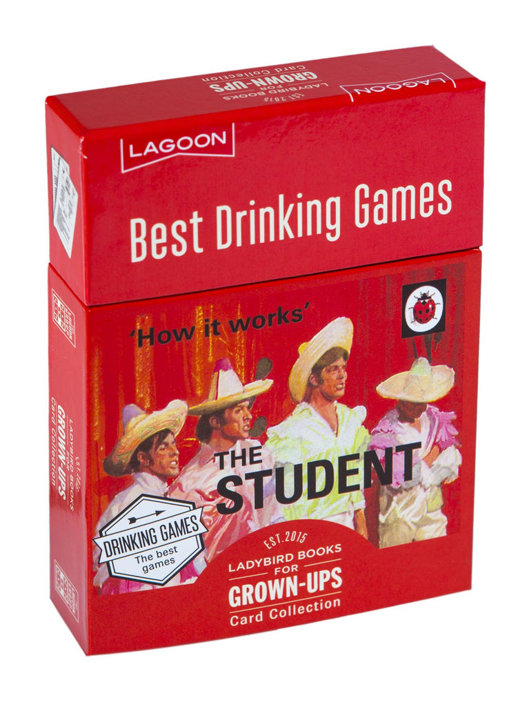 Ladybird Books For Grown Ups - The Student - Best Drinking Games - Lagoon Group