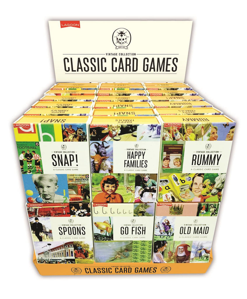 Ladybird Vintage Collection - Classic Card Games - Sold Individually/6 Designs Available
