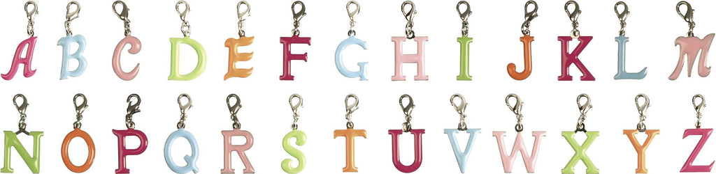 Bombay Duck - Enamel Alphabet Letter Charms - A To Z