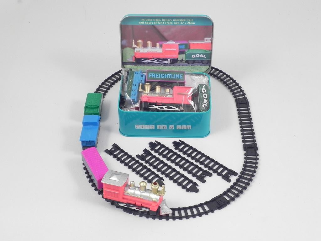Apples To Pears - Learn & Play - Gift In A Tin - Train Set In A Tin