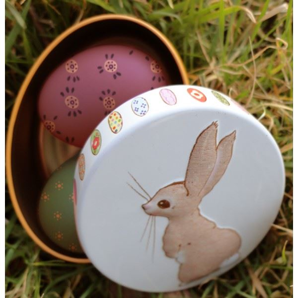 Belle & Boo - Embossed Oval Trinket/Treat Tin - 4 Designs To Choose From