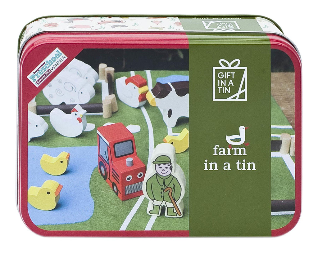 Apples To Pears - Learn & Play - Gift In A Tin - Farm In A Tin