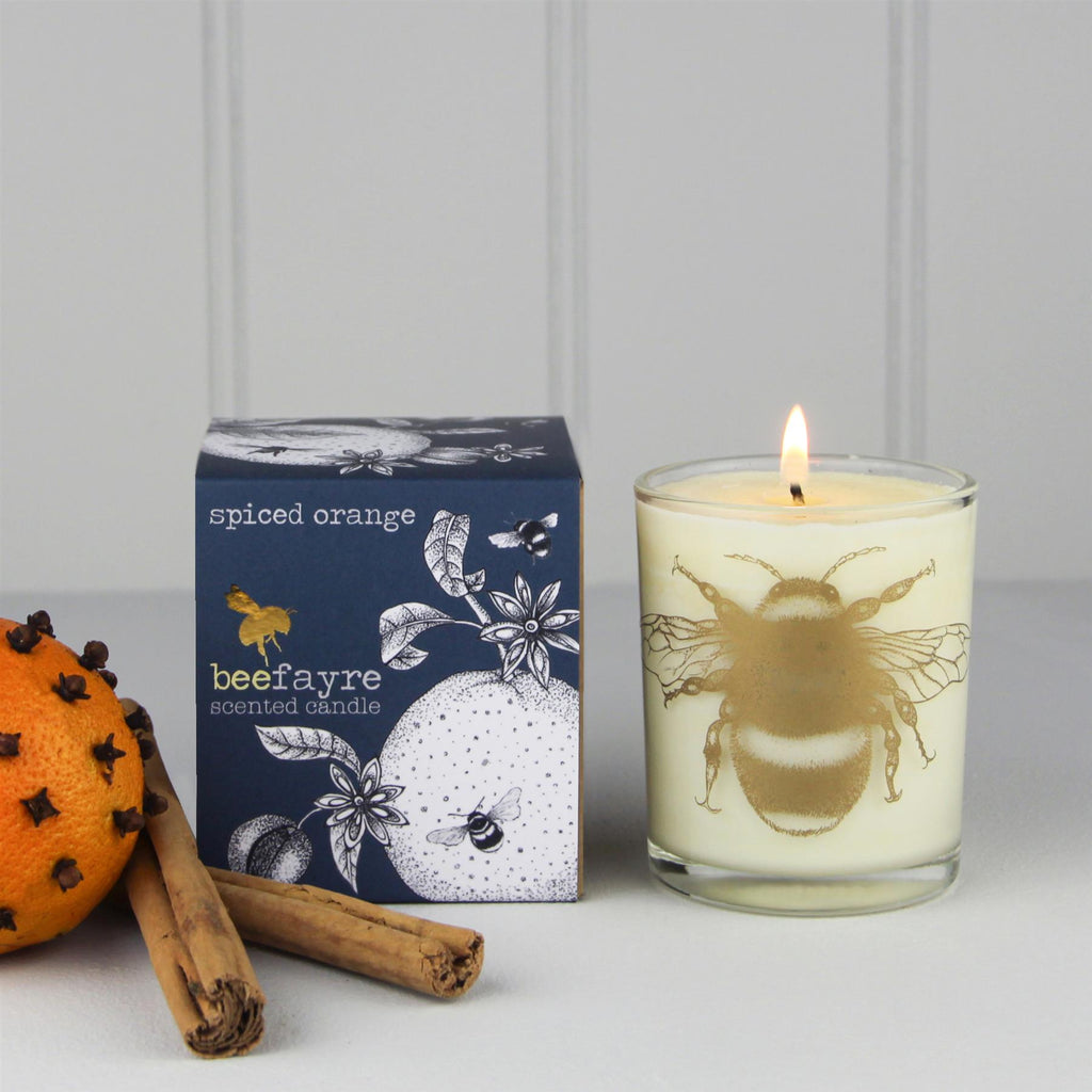 Beefayre Bee Jolly - Spiced Orange - Large Scented Candle - 20cl/50hours