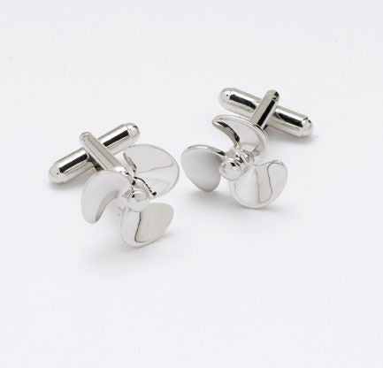 Novelty Cufflinks  - Propeller - CK30 - Onyx Art